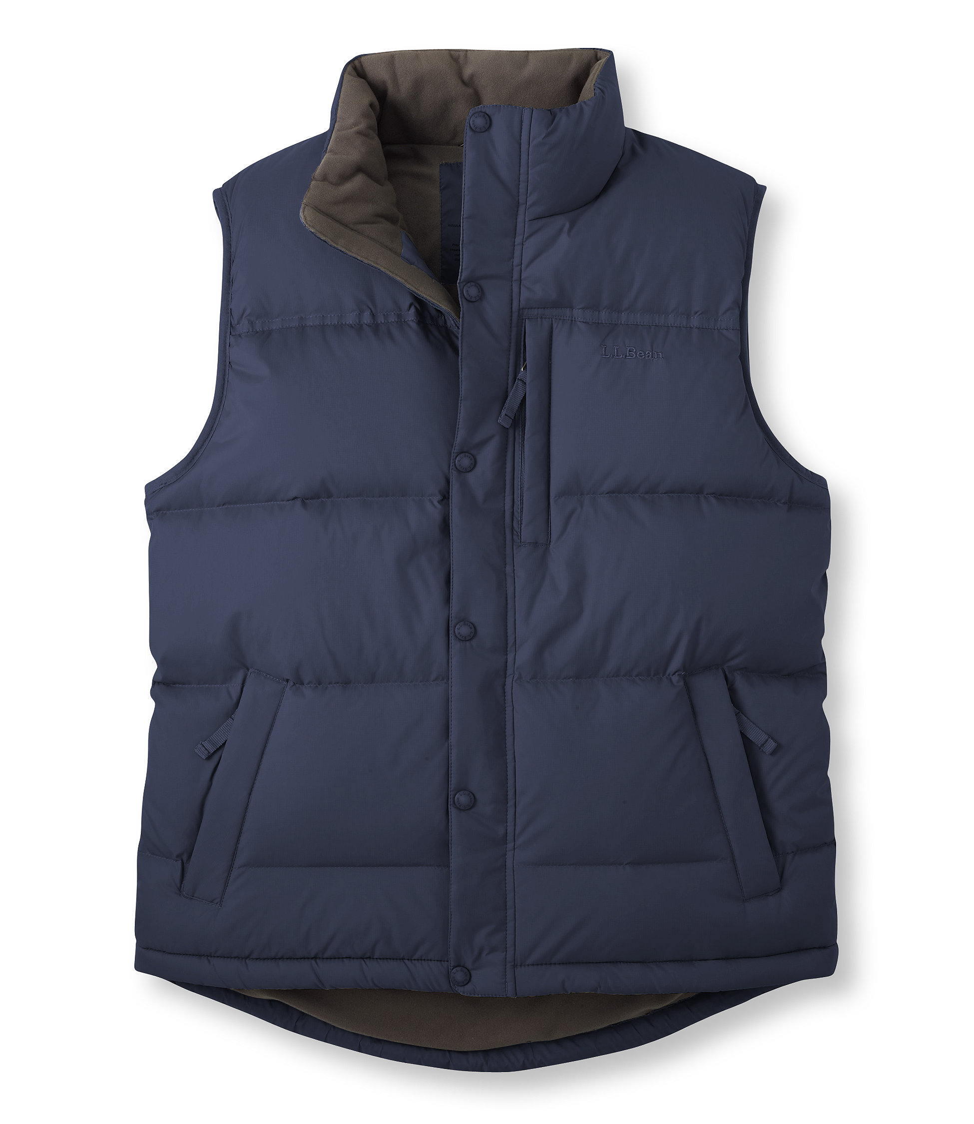 photo: L.L.Bean Men's Goose Down Vest down insulated vest