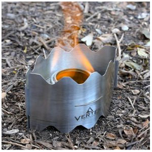 photo: Vertex VLS Ultralight Stove solid fuel stove
