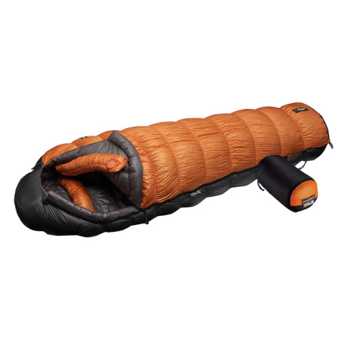 photo: MontBell U.L. Super Stretch Down Hugger EXP cold weather down sleeping bag