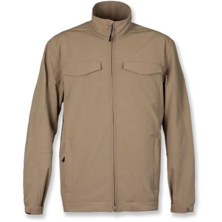White Sierra Buster Soft Shell Jacket