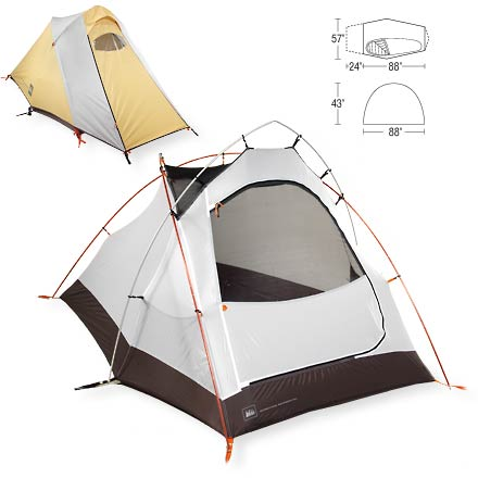 photo: REI Clipper Tent three-season tent