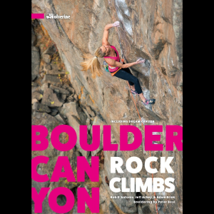 photo: Wolverine Publishing Boulder Canyon Rock Climbs us mountain states guidebook
