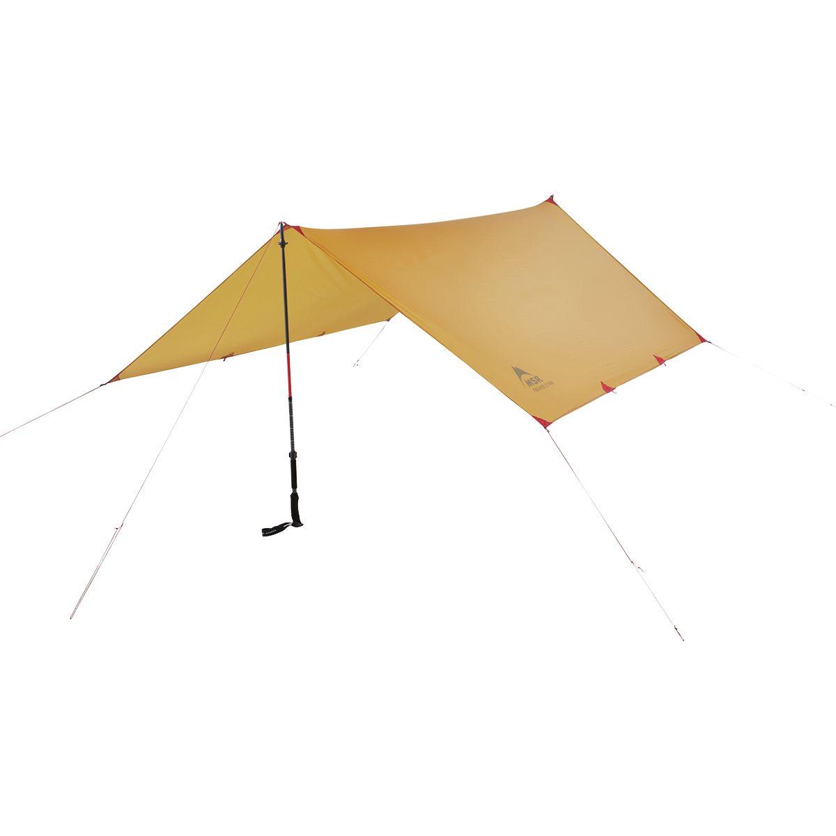 photo: MSR Thru-Hiker 70 Wing tarp/shelter