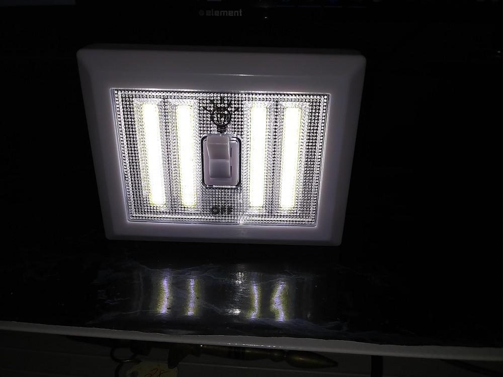 photo:   Go Green Power LED Light Switch light