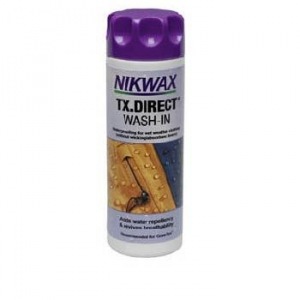 photo of a Nikwax fabric cleaner/treatment