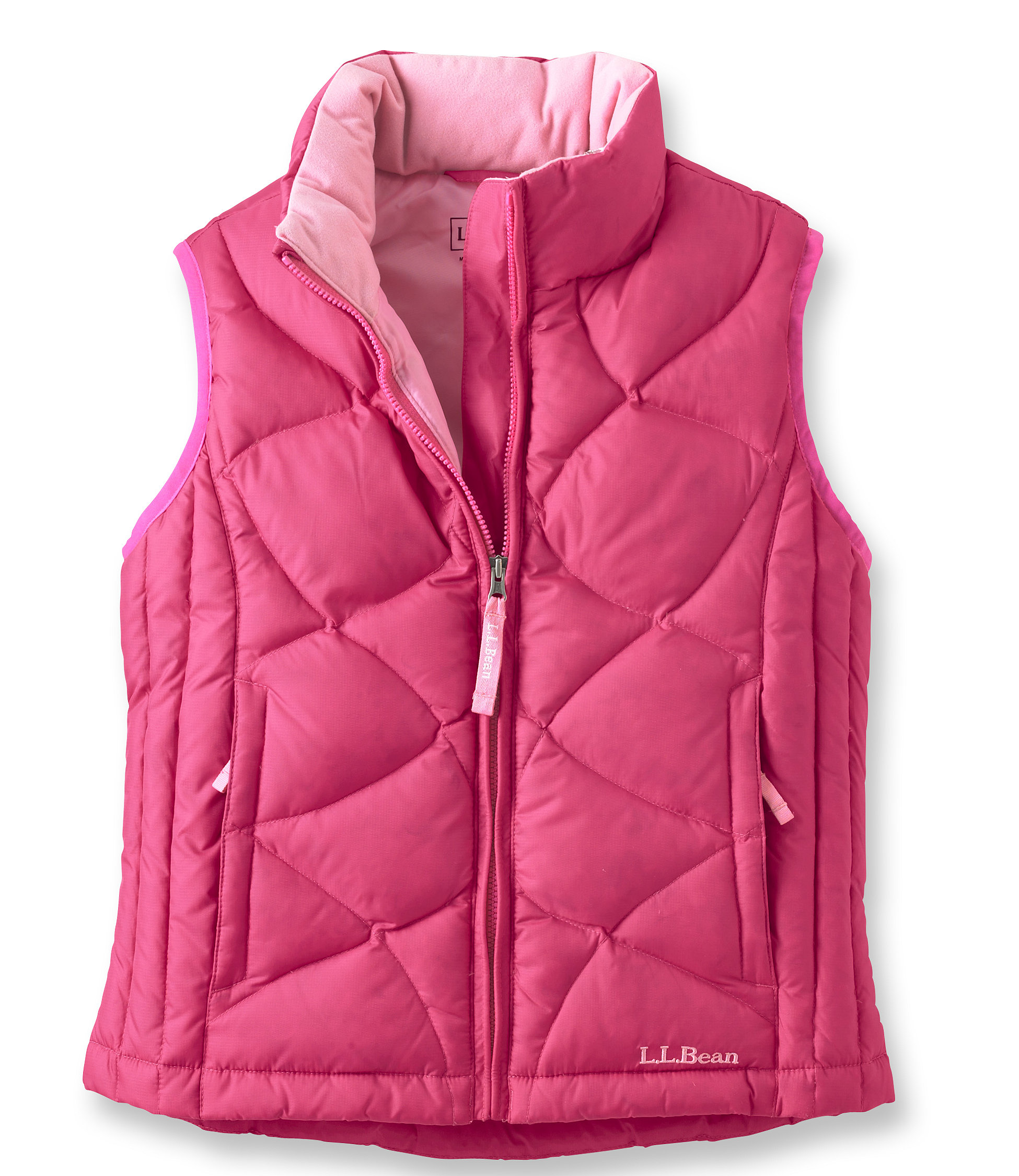 photo: L.L.Bean Girls' Goose Down Vest down insulated vest