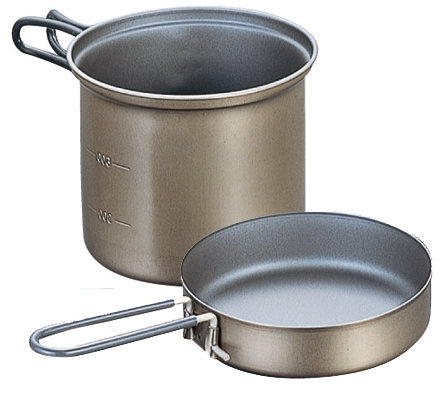 photo: Evernew Ti Non-Stick Deep Pot pot/pan