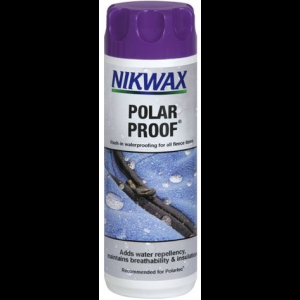 photo: Nikwax Polar Proof fabric cleaner/treatment