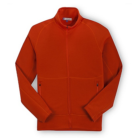 photo: Ibex Men's Nomad Full Zip Jacket wool jacket