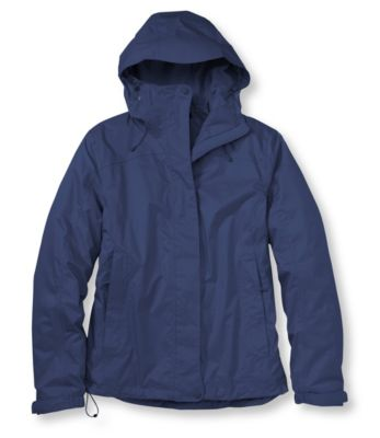 L.L.Bean Trail Model Rain Jacket, Fleece-Lined