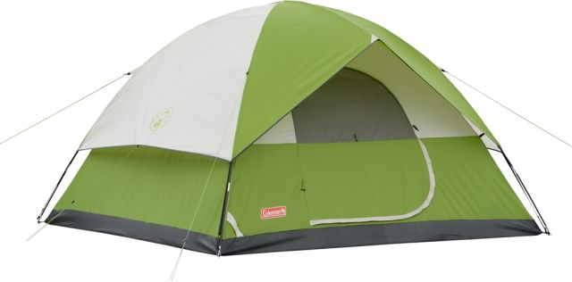photo: Coleman Sundome 4 three-season tent