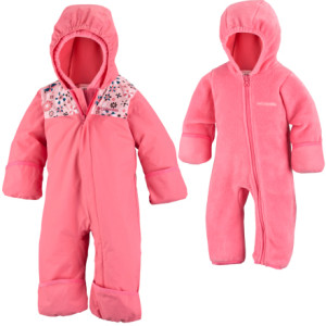 photo: Columbia Girls' Bugababy Interchange Bunting kids' snowsuit/bunting