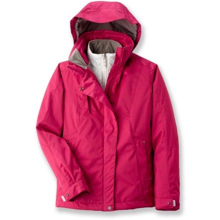 photo: White Sierra Cinder Cone 3 in 1 Jacket component (3-in-1) jacket