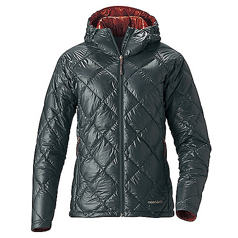photo: MontBell Women's U.L. Down Parka down insulated jacket