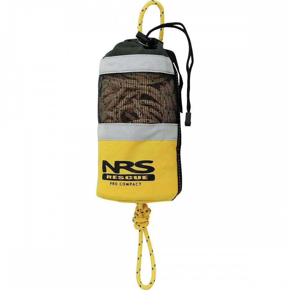 photo: NRS Pro Compact Rescue Throw Bag throw bag/rope