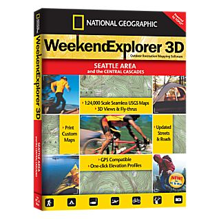 National Geographic Weekend Explorer 3D - Seattle Area CD-ROM