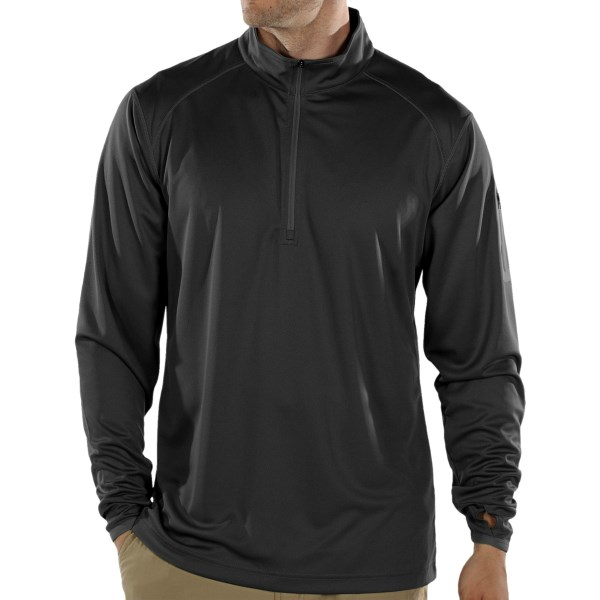 photo: ExOfficio Sol Cool Tech Quarter-Zip Shirt long sleeve performance top