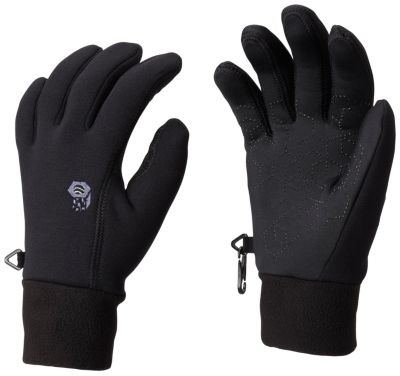 photo: Mountain Hardwear Women's Heavyweight Power Stretch Glove fleece glove/mitten