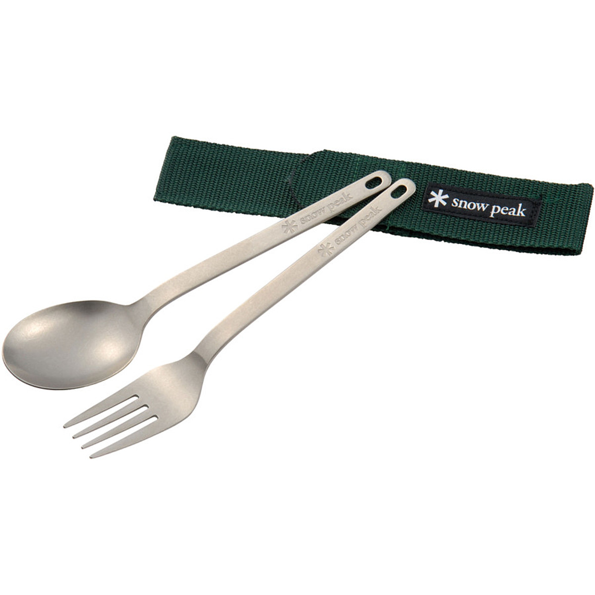 Snow Peak Titanium Fork & Spoon Set