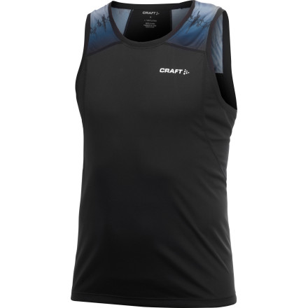 Craft Run Singlet Top
