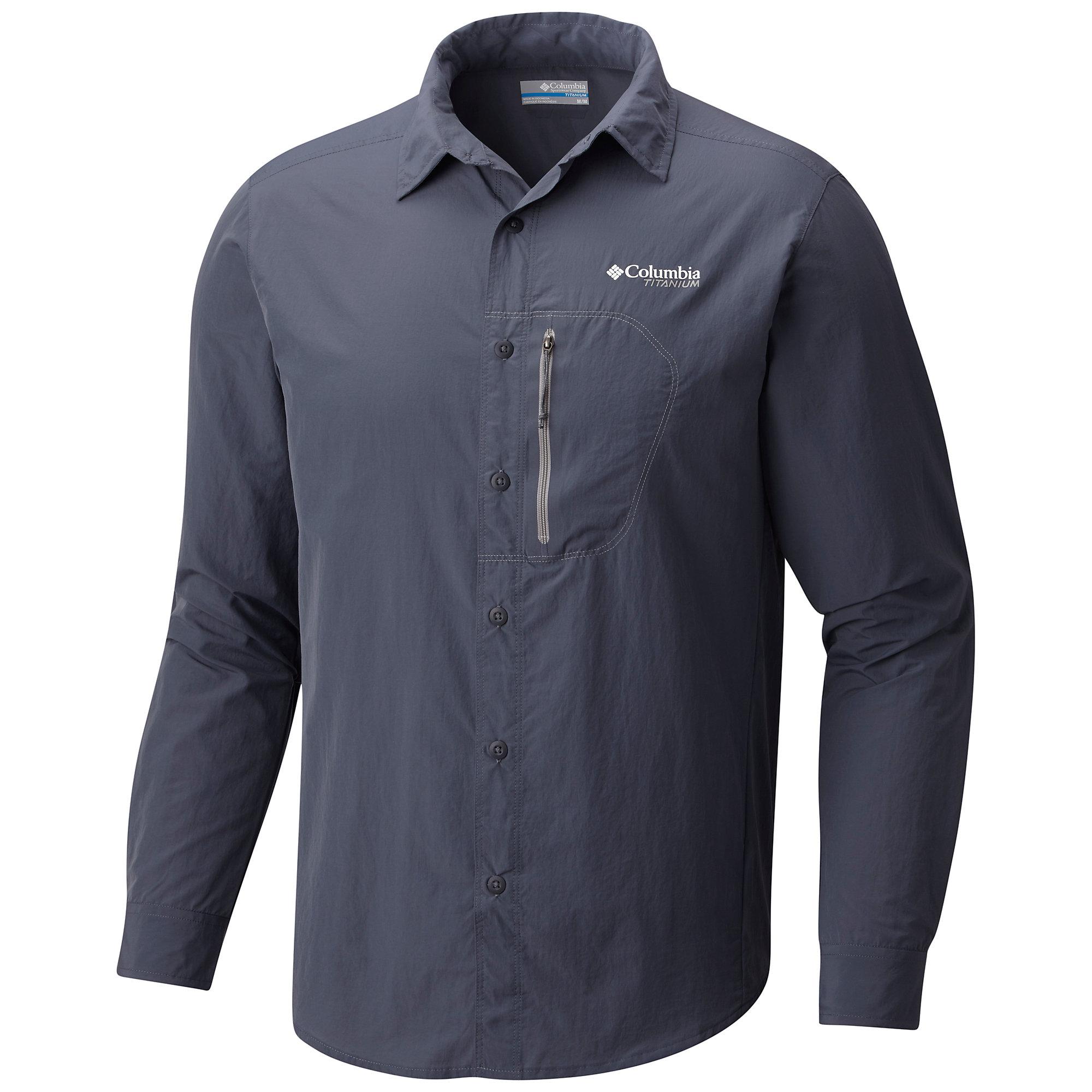 photo: Columbia Featherweight Hike Long Sleeve Shirt hiking shirt