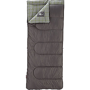 Coleman Rectangle Polyester Flannel 30 Degree Sleeping Bag