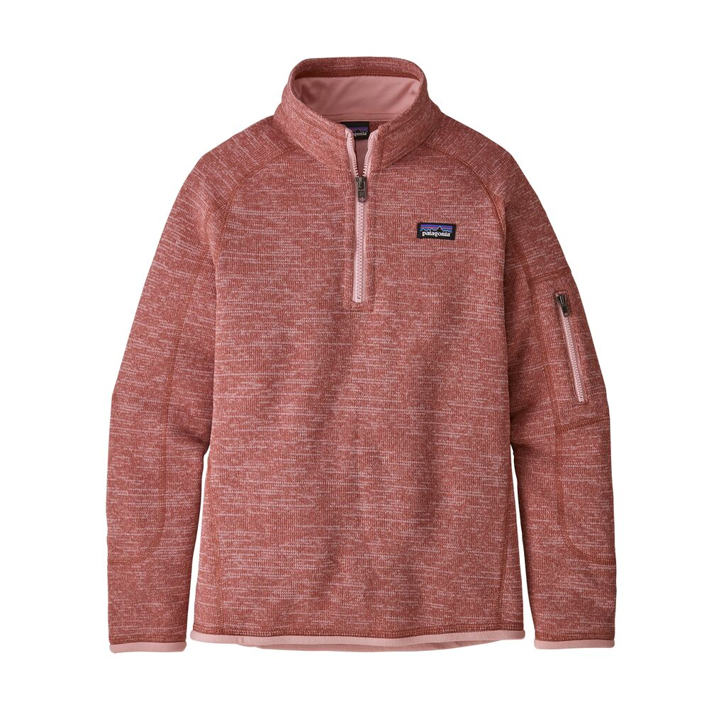 photo: Patagonia Girls' Better Sweater 1/4-Zip fleece top