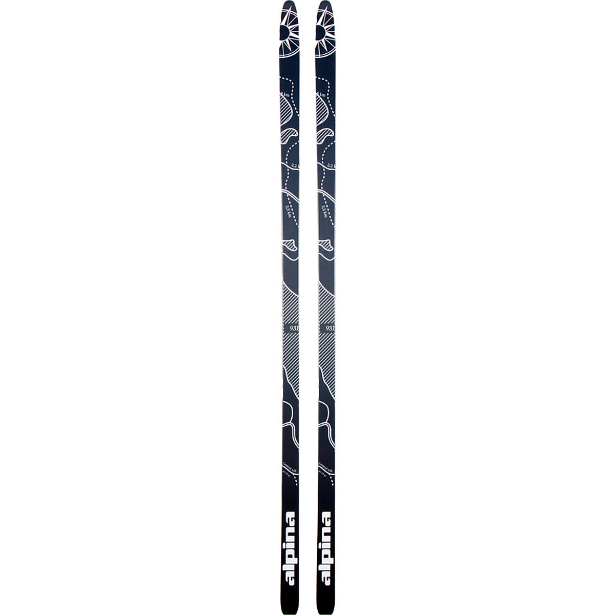 photo: Alpina Kids' Control 64 nordic touring ski