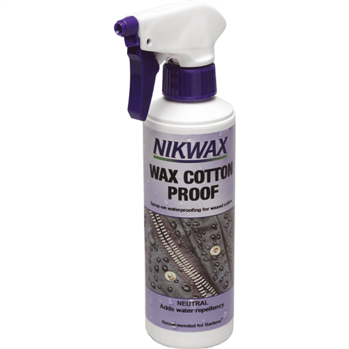photo: Nikwax Wax Cotton Proof fabric cleaner/treatment