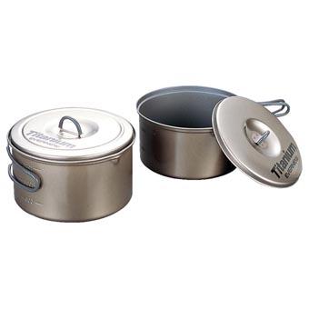 Evernew Titanium Solo Non-Stick Cook Set