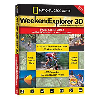 National Geographic Weekend Explorer 3D - Twin Cities Area CD-ROM