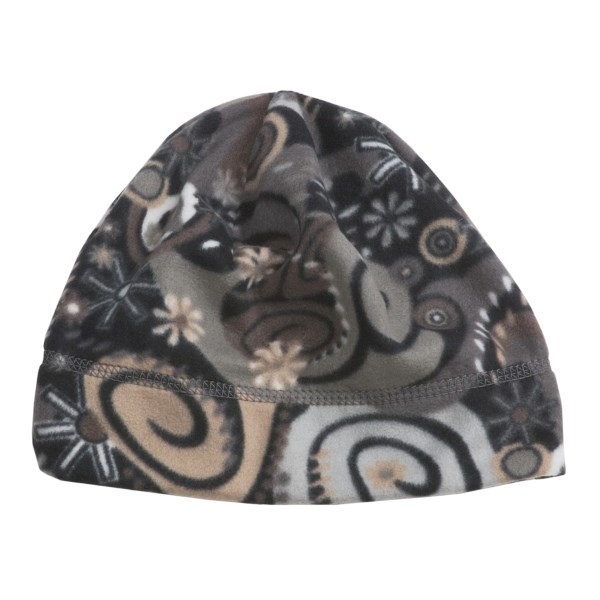 Turtle Fur Printed Fleece Beanie Hat