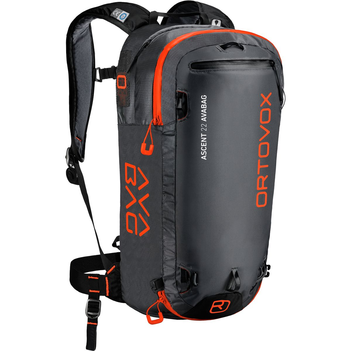 photo: Ortovox Ascent 22 Avabag avalanche airbag pack