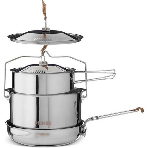 photo: Primus CampFire Cookset S/S - Large pot/pan