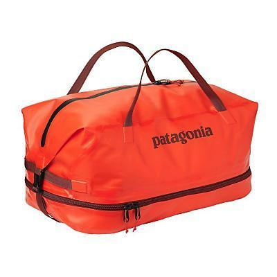 photo: Patagonia Stormfront Wet/Dry Duffel pack duffel