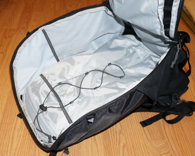 4 zippers for the main compartment  Allows for unzipping of the pack from  top or bottom. d55b9e346204a