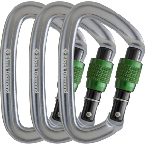 photo: Black Diamond Positron Screwgate locking carabiner