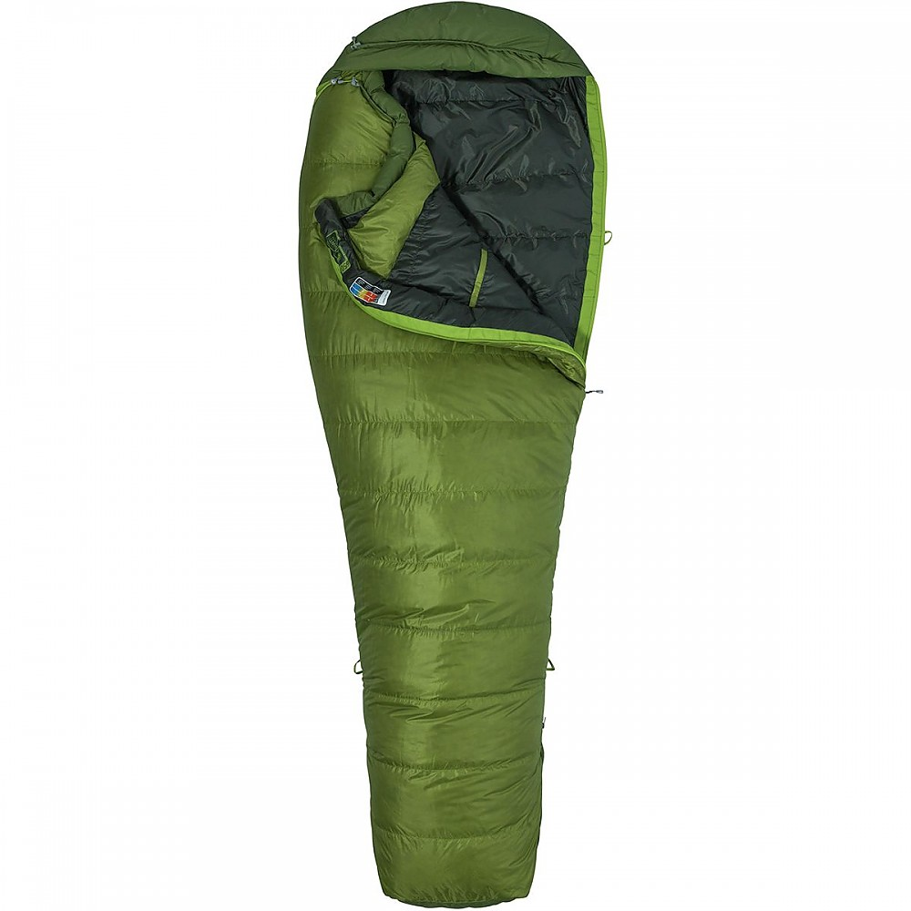 photo: Marmot Never Winter 3-season down sleeping bag