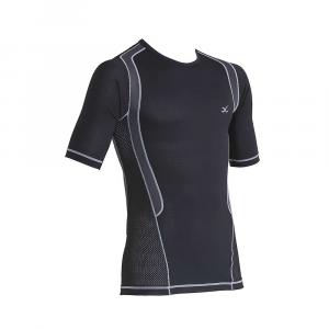 photo: CW-X Men's Ventilator Web Top Short-Sleeve short sleeve performance top
