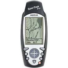 photo: Magellan SporTrak Pro handheld gps receiver