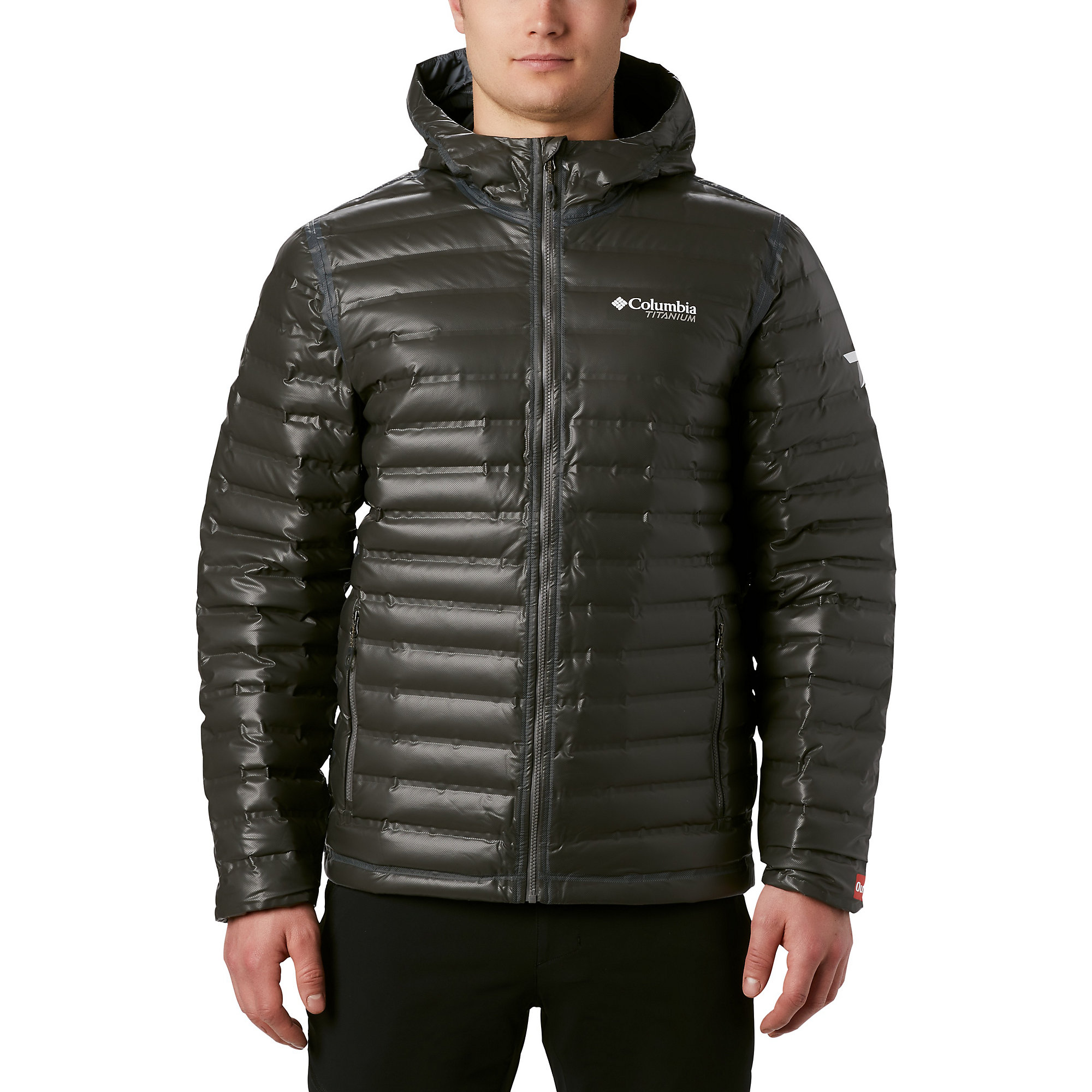 photo: Columbia OutDry Ex Gold Hooded Down down insulated jacket