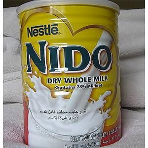 photo:   Nestle NIDO Dry Whole Milk drink
