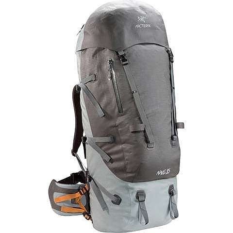 photo: Arc'teryx Naos 85 expedition pack (70l+)
