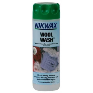 photo: Nikwax Wool Wash fabric cleaner/treatment