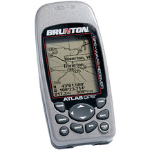 photo: Brunton Atlas GPS handheld gps receiver