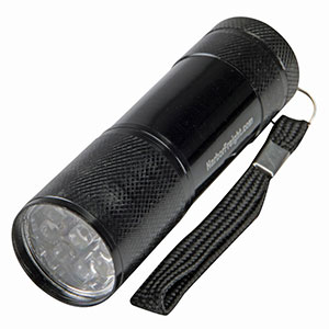 photo:   Harbor Freight 3-1/2 in. 9 LED Mini Flashlight flashlight
