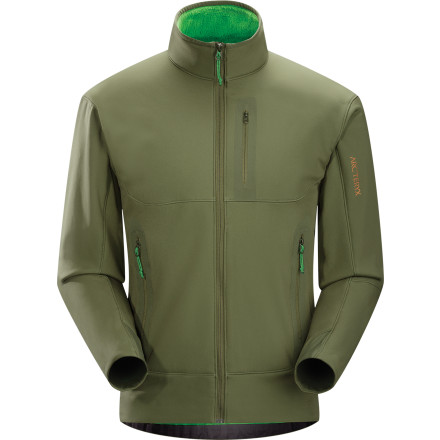 photo: Arc'teryx Men's Hyllus Jacket fleece jacket