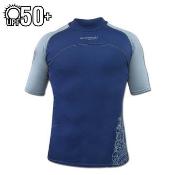photo: Stohlquist Men's Burnout Short Sleeve Rashguard short sleeve rashguard