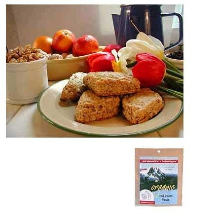 photo: Mary Janes Farm Organic Scones w/Walnuts & Orange Peel vegetarian entrée