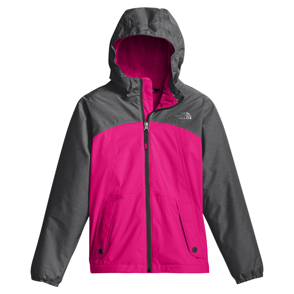 photo: The North Face Girls' Warm Storm Jacket waterproof jacket